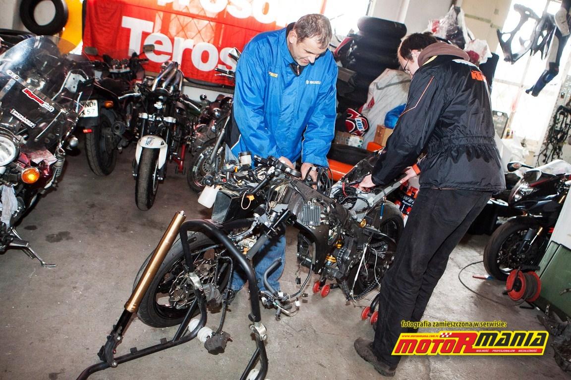 MTM przygotowuje naszą wyścigową maszynę
