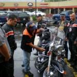 inspekcja motocykli przed trasa