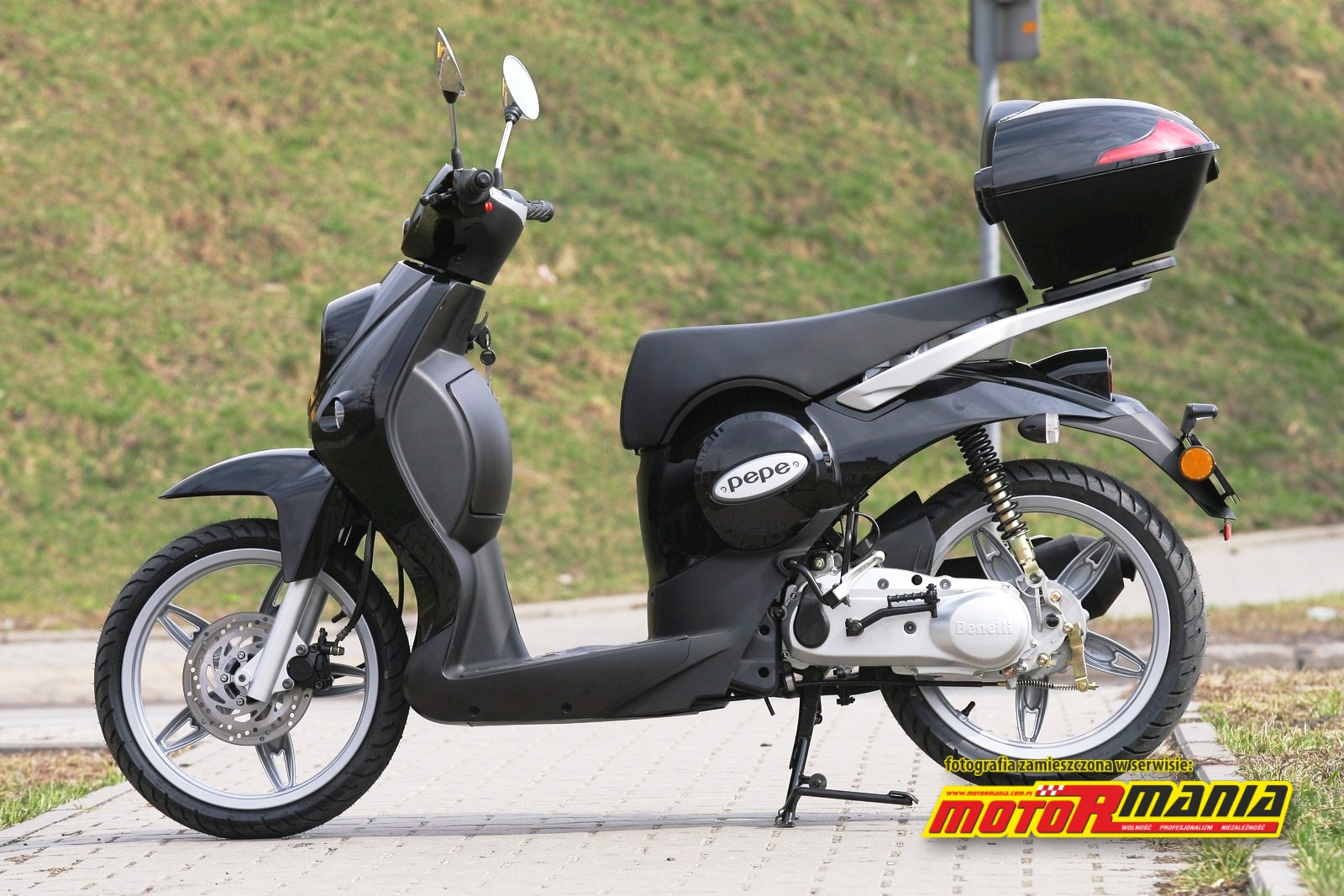 2008 Benelli Pepe 50 LX Photos, Informations, Articles