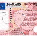Prawo jazdy 2013 wzor przod