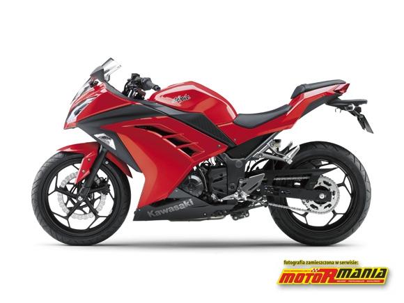 Czerwona Ninja 250R 2013