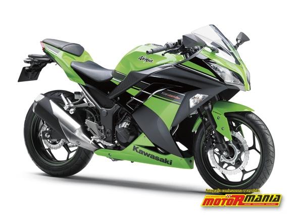 Kawasaki Ninja 250R Lime Green-Ebony edycja specjalna