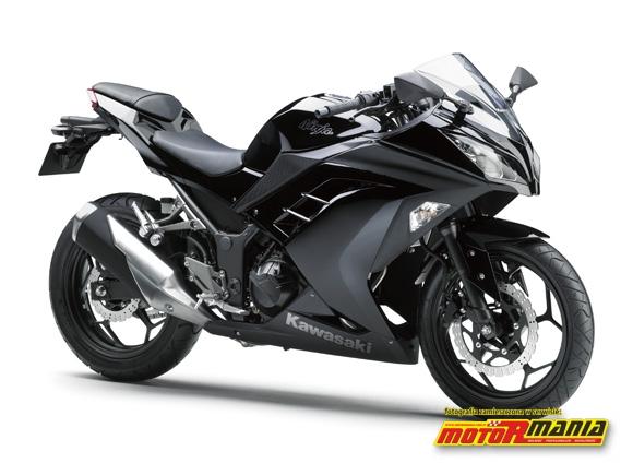 Ninja 250R 2013 czarna Ebony