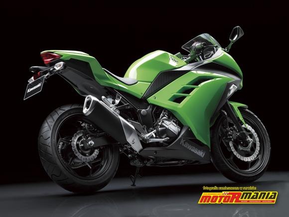 Ninja 250R na stopce