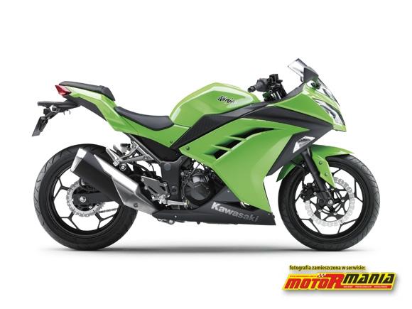 Ninja 250R prawy profil