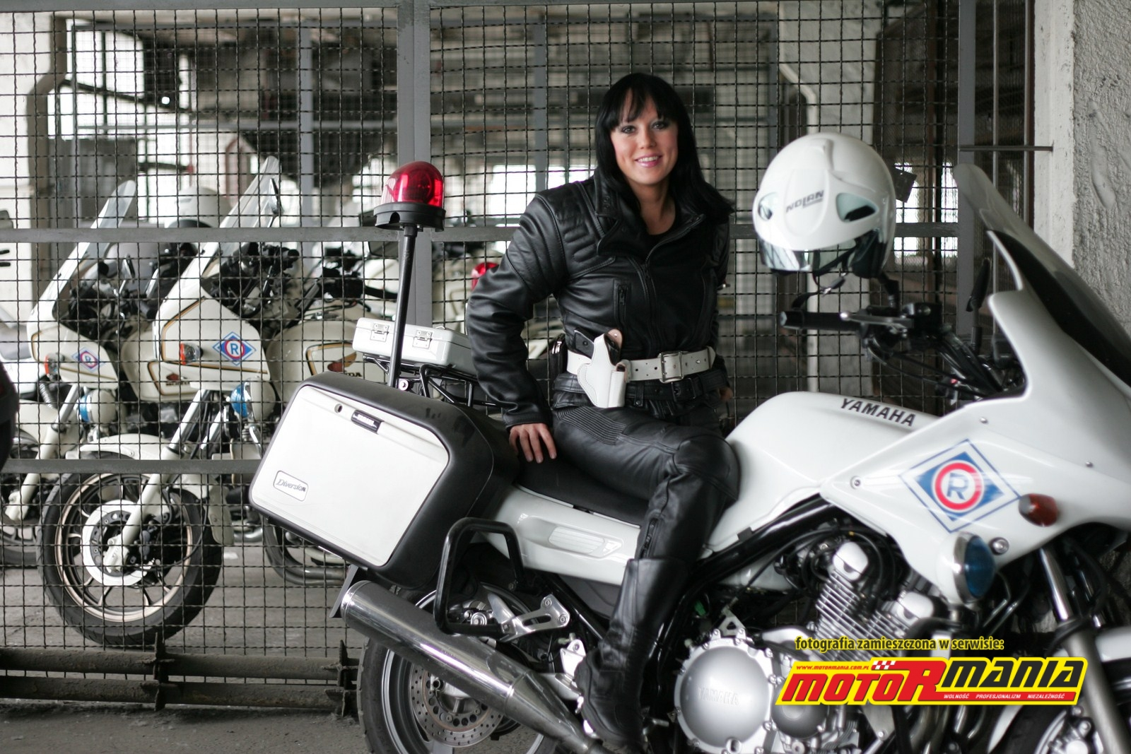 Policjantki Motormania Motocykle Skutery Newsy