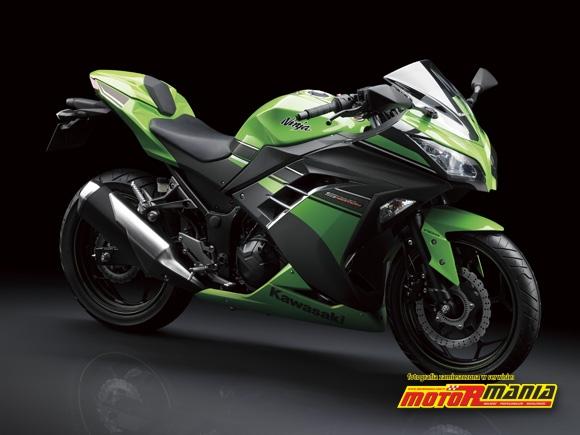 Sportowa Ninja 250R Kawasaki 2013