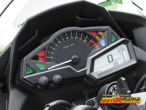 Zegary Ninja 250R 2013