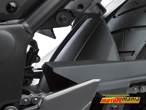 blotnik tylnego kola Ninja 250R