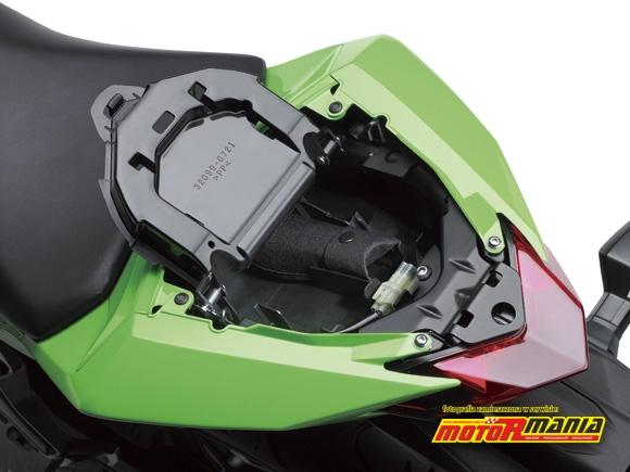 schowek 2 Ninja 250R Kawasaki 2013