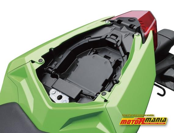 schowek Ninja 250R Kawasaki 2013