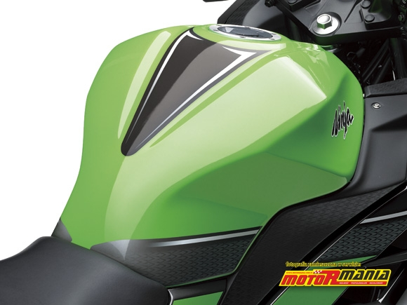 sportowy zbiornik wersja specjalna Ninja 250R 2013