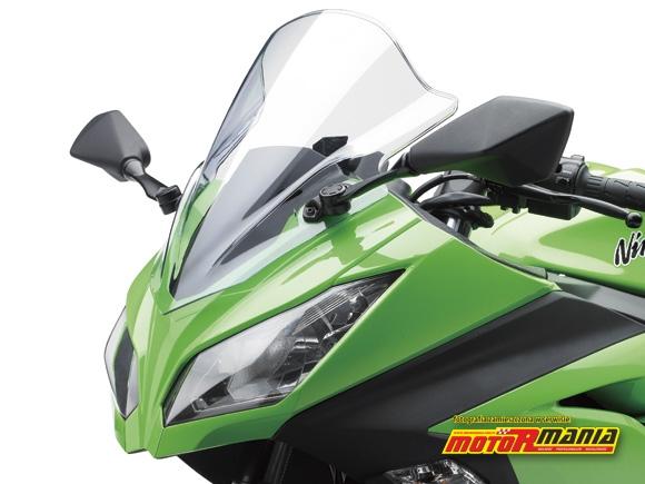 szyba wysoka Ninja 250R Kawasaki 2013