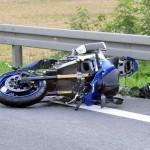 Wypadek Suzuki GSXR - fot Tomasz Jefimow