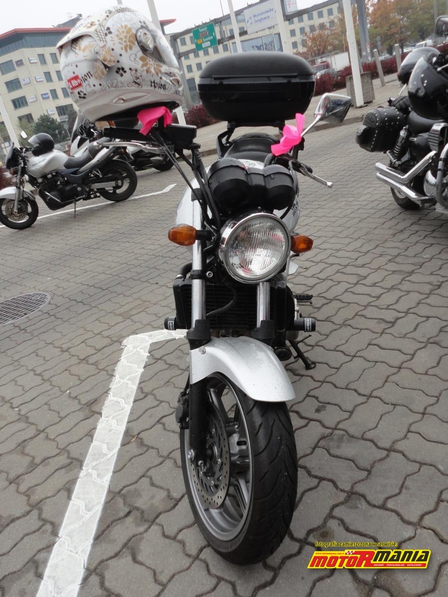 motocykl wstazki