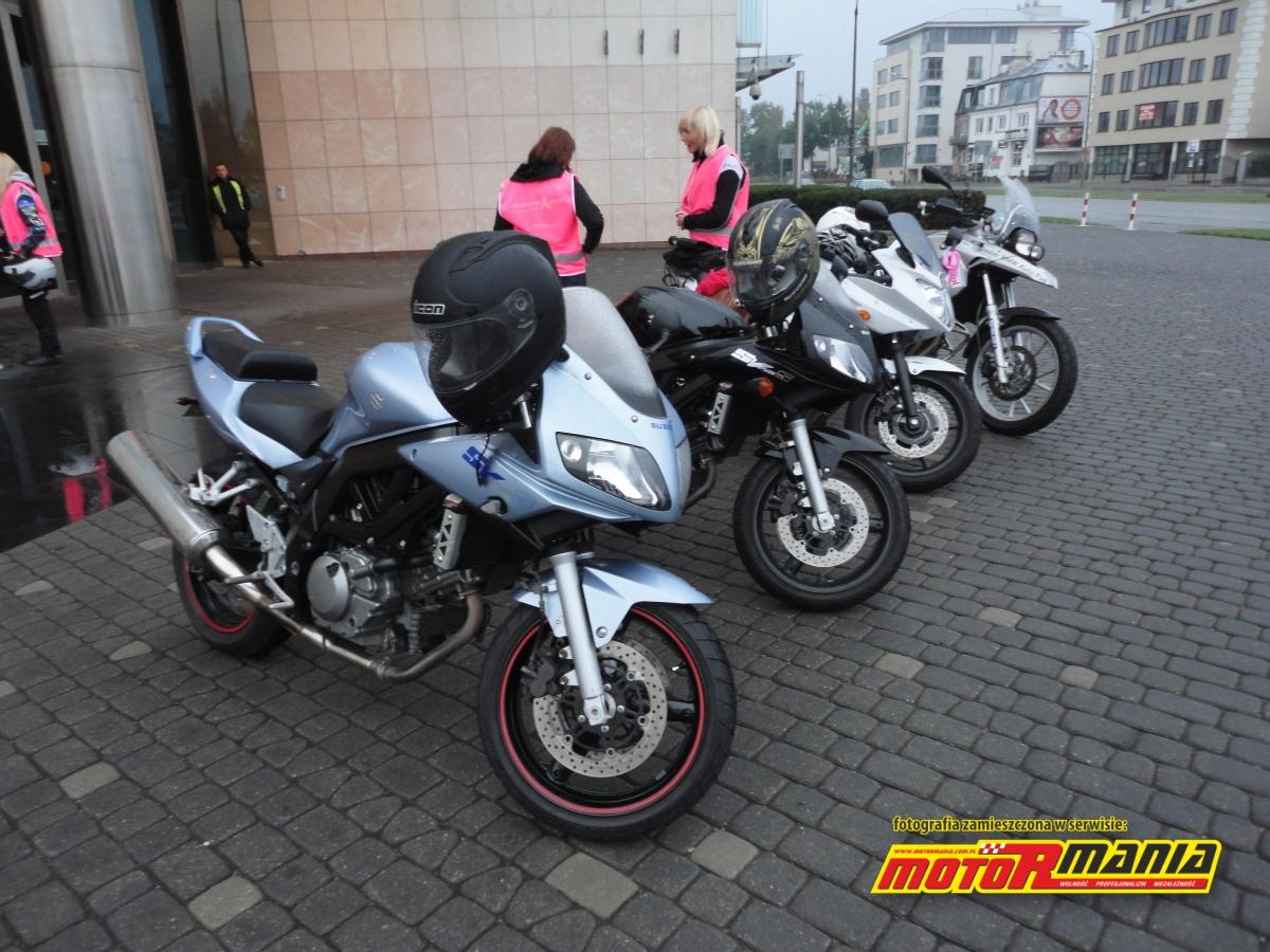 motocykle przed TVN