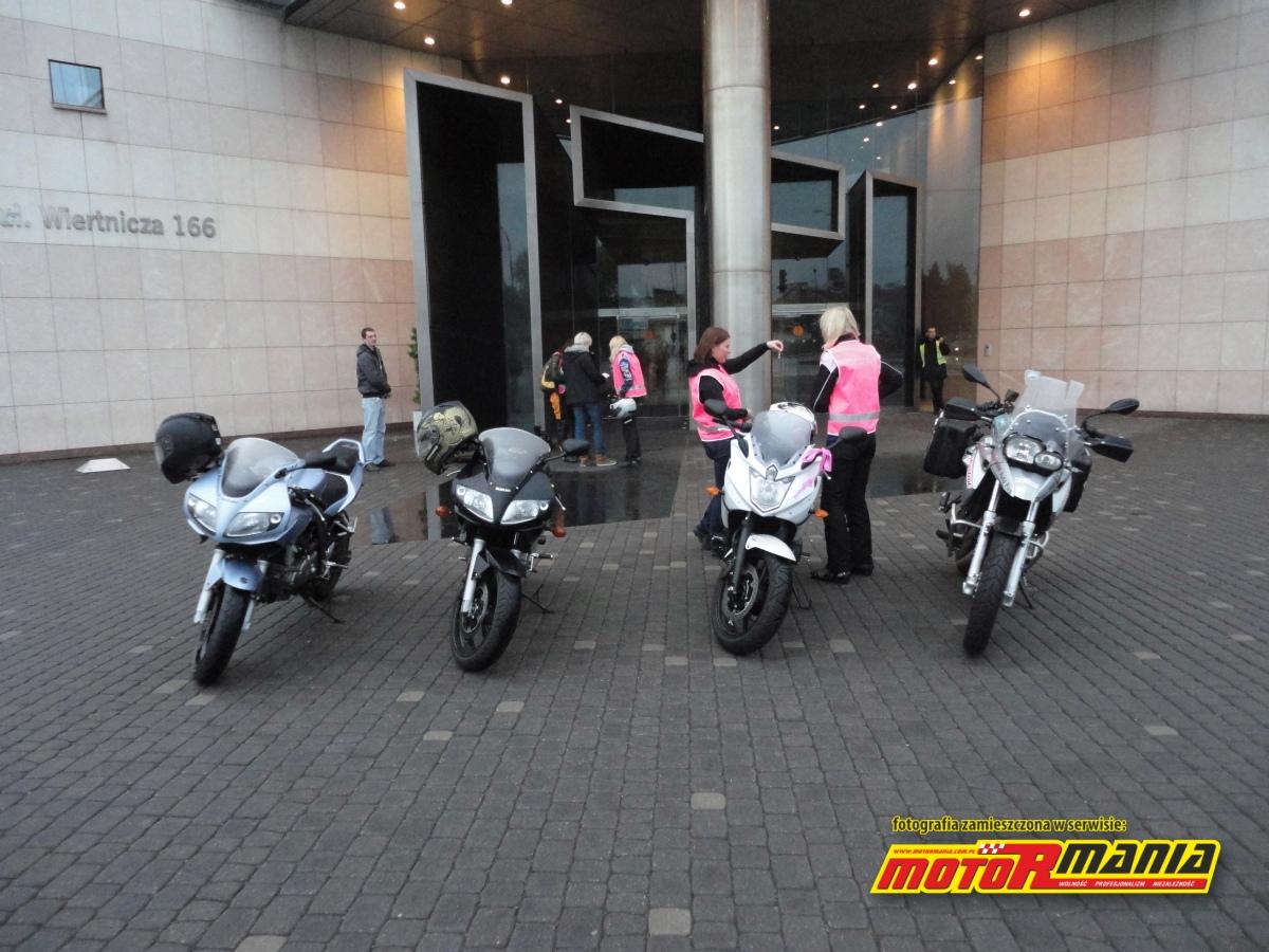 motocyklistki w TVN24