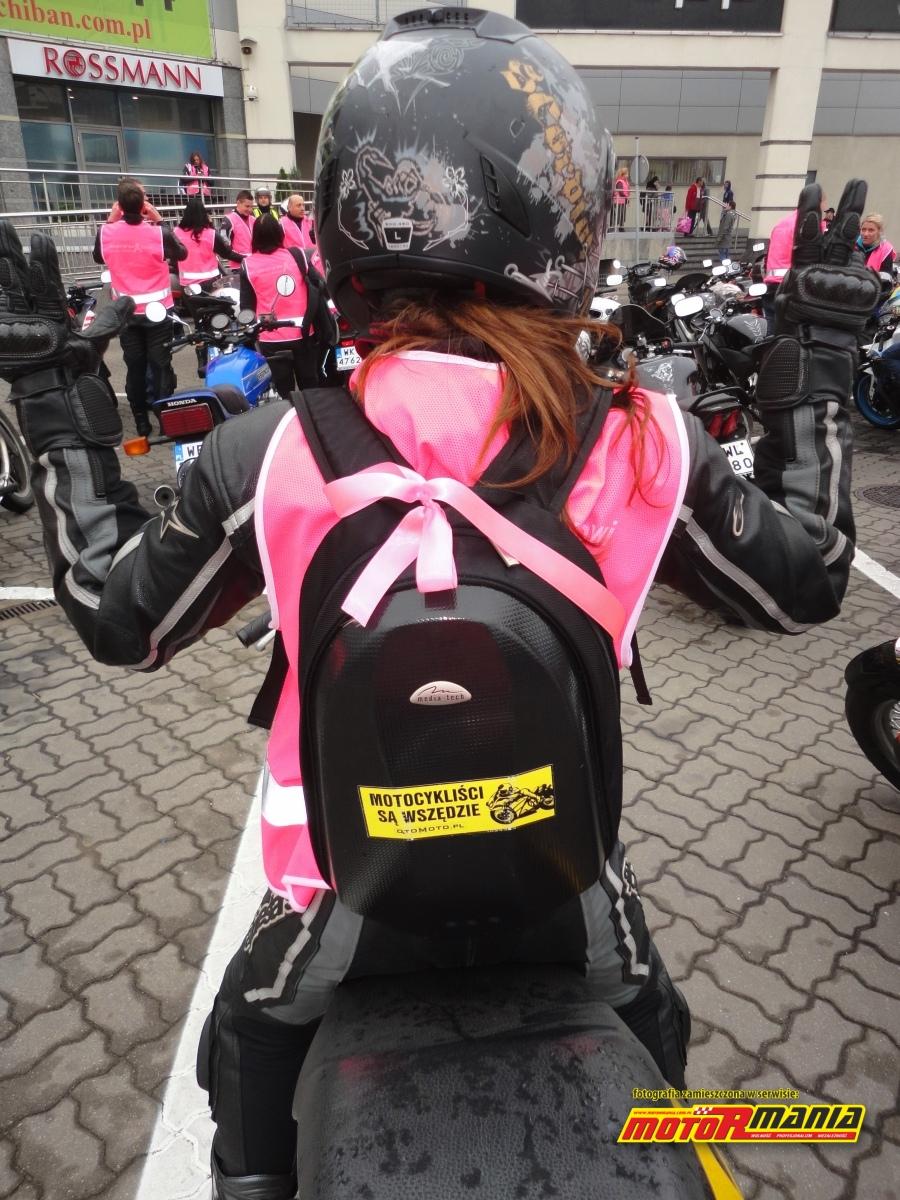motocylisci sa wszedzie rozowo