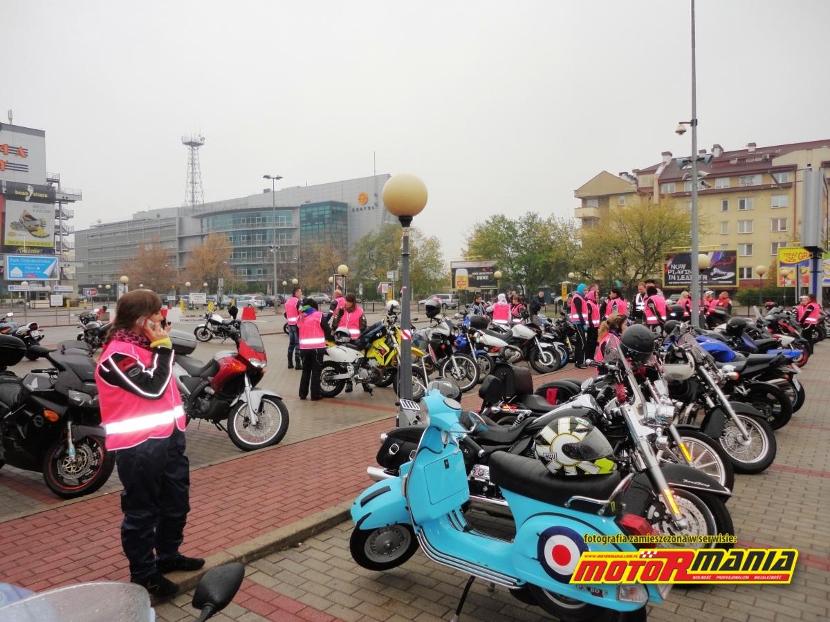 zbiorka motocyklistek