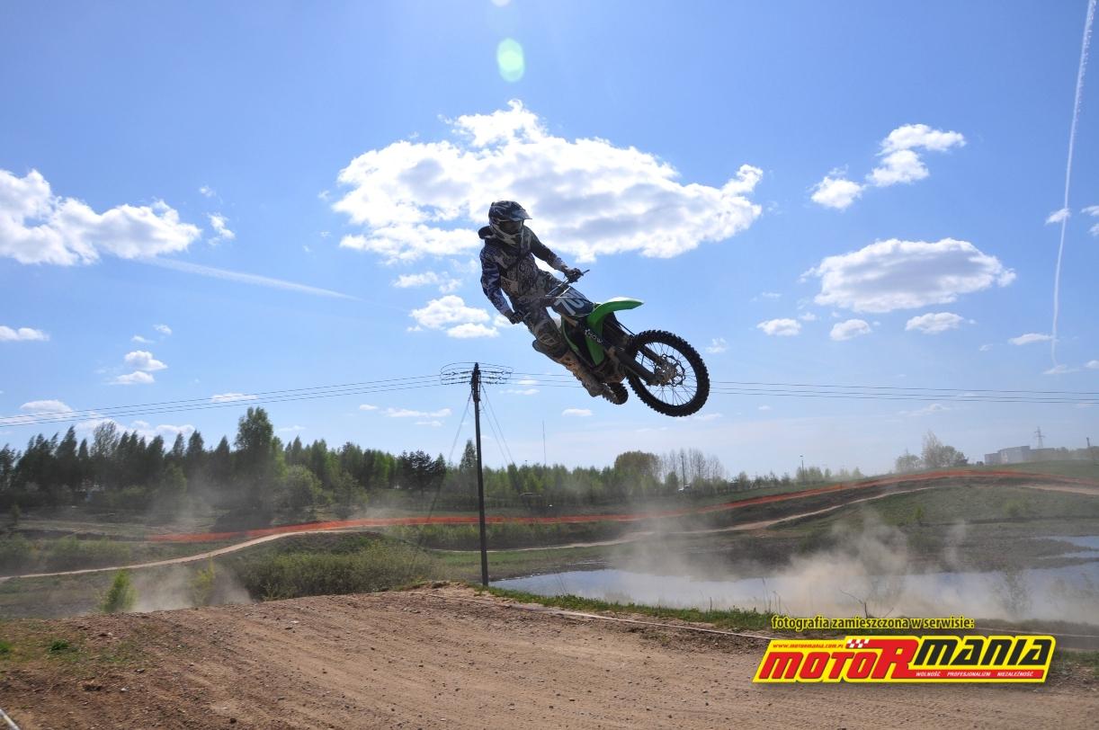 Skoki motocross Wojtek