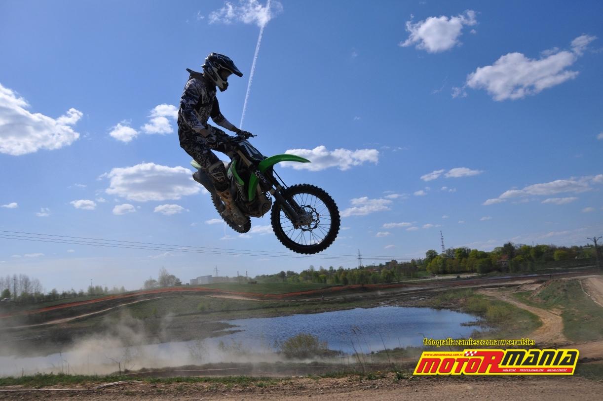 Wojtek Grodzki w Motocrossie