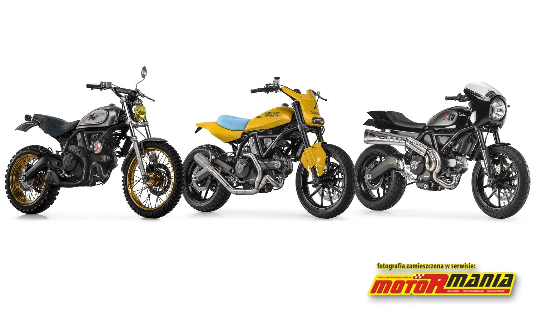 Customowe Ducati Scrambler