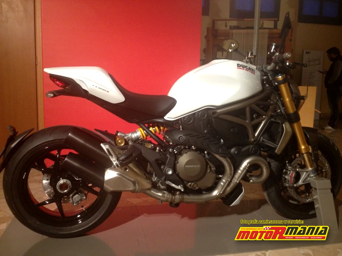 2014 Ducati Monster 1200 S eicma