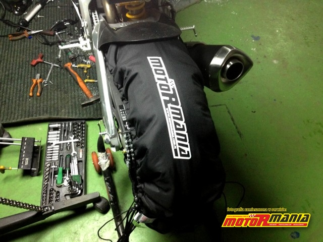 Koc grzewczy MotoRmania do opon
