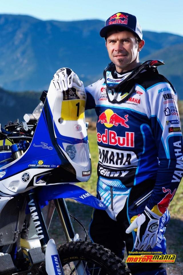 Yamaha i Cyril Despres 2014 (2)