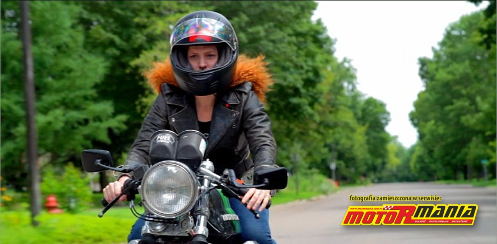 Girl Meets Bike MotoGuzzi
