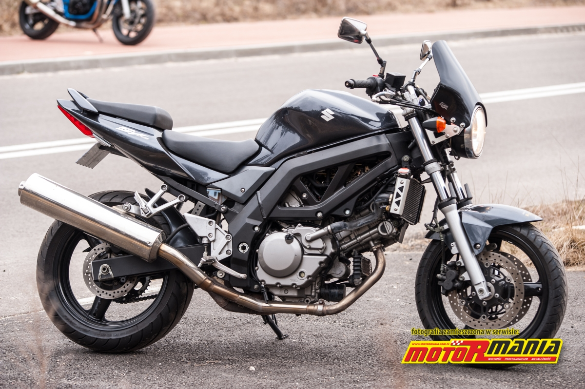 suzuki sv650n 2005 test 1 motormania motocykle skutery newsy testy wydarzenia. Black Bedroom Furniture Sets. Home Design Ideas