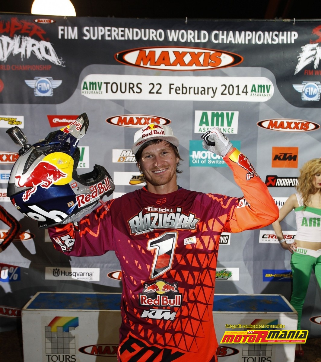 Tadek Blazusiak mistrzem SuperEnduro 2014 (9) - fot Edmunds J - KTM Images