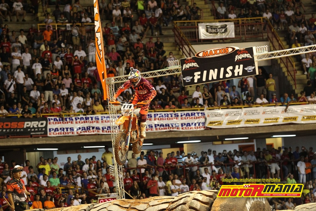Tadek Blazusiak w SuperEnduro 2014 - fot Edmunds J - KTM Images (3)