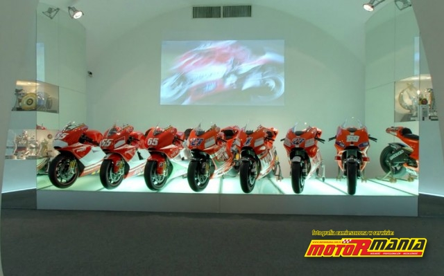 motogp w muzeum ducati