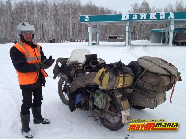 Gas station named Baikal long before the lake