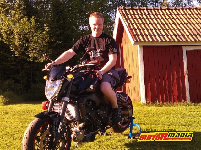 Mr Helmut i jego Turbo FZ1