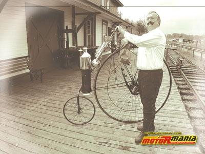 Bicykl parowy Copelanda