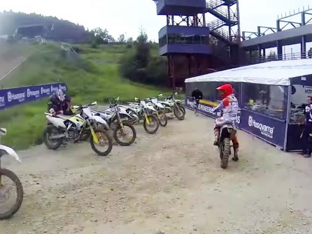 Motocykle enduro i motocross od Husqvarny na 2015 – video z testu!