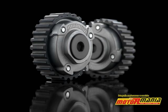 kolo zebata a w srodku DVT - Ducati Testastretta DVT