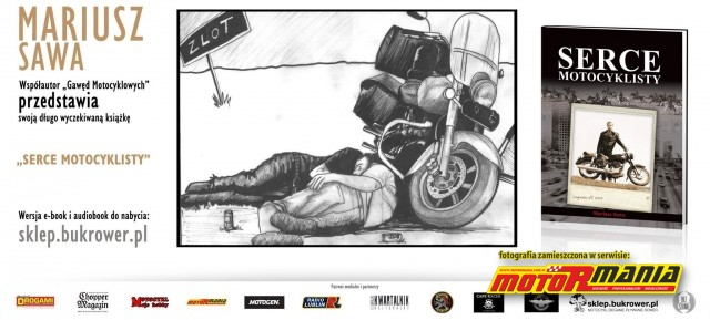 Serce motocyklisty ksiazka Mariusz Sawa (2)