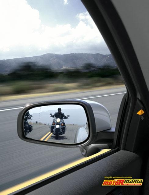 BLIS Volvo i motocykle