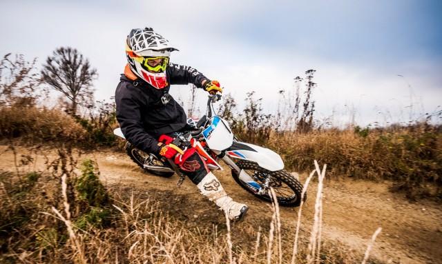 Eliasz na KTM Freeride E-SX tor w Mysiadle(4)