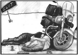 Serce-motocyklisty-ilustracje-Damian-Wojt-Zlot