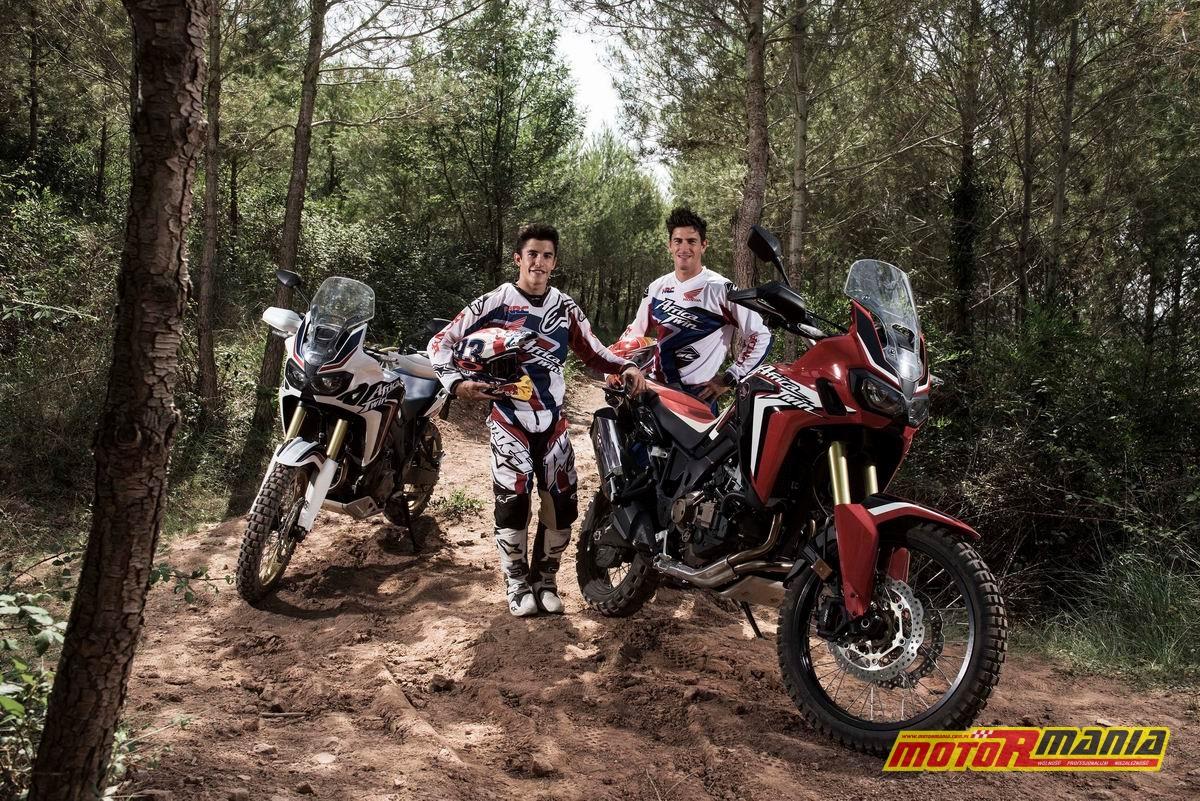 Marquez & Barreda na Africa Twin CRF1000L (3)