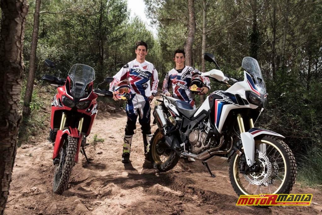 Marquez & Barreda na Africa Twin CRF1000L (4)