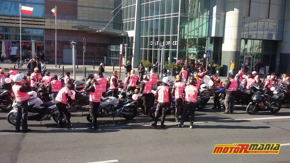 MotoRozowi na drogach warszawy (3)