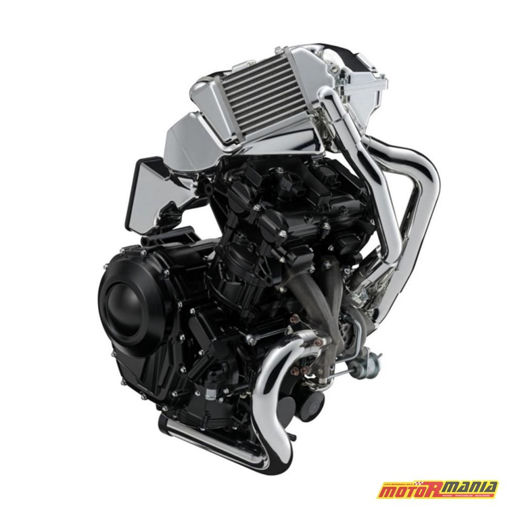 Silnik EX7 z turbo - oficjalnie zaprezentowany w 2015 roku.