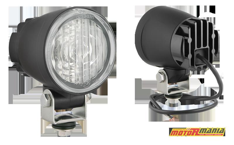 Uniwersalny reflektor przeciwmgielny LED klasy F3 polskiej firmy WESEM