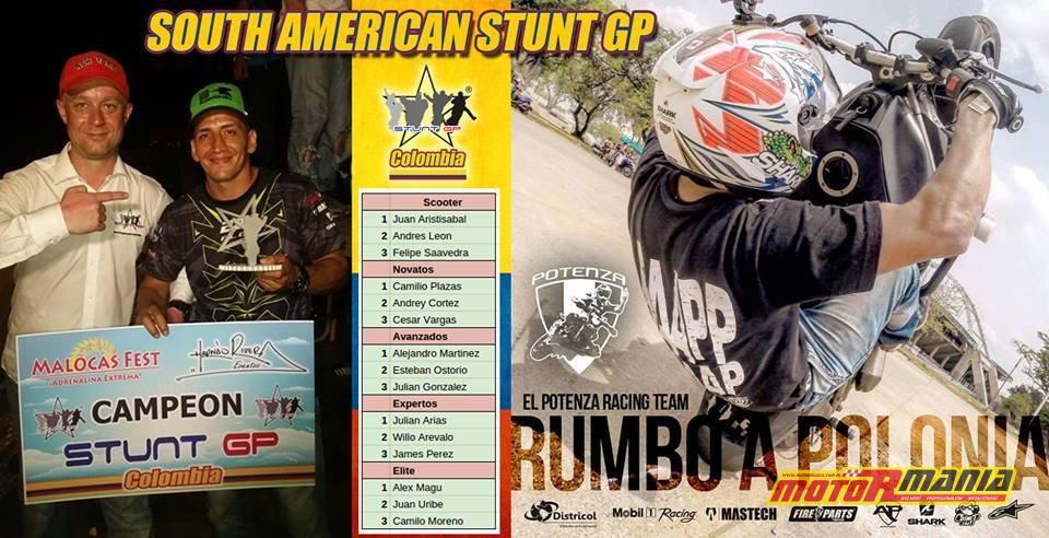 Kolumbia, StuntGP Ameryki Południowej (9) - fot Gena Steffens