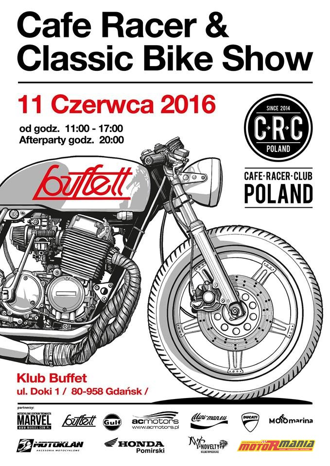 Cafe Racer and Classic Bike Show 2016